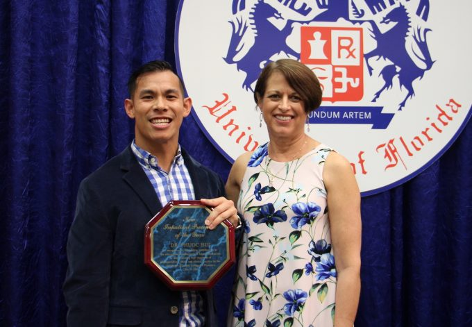Phuoc Bui, new inpatient preceptor of the year